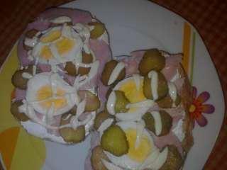 Sendvič sa šunkom i jajima
